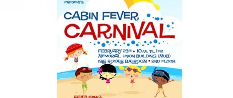 Cabin Fever Carnival Poster