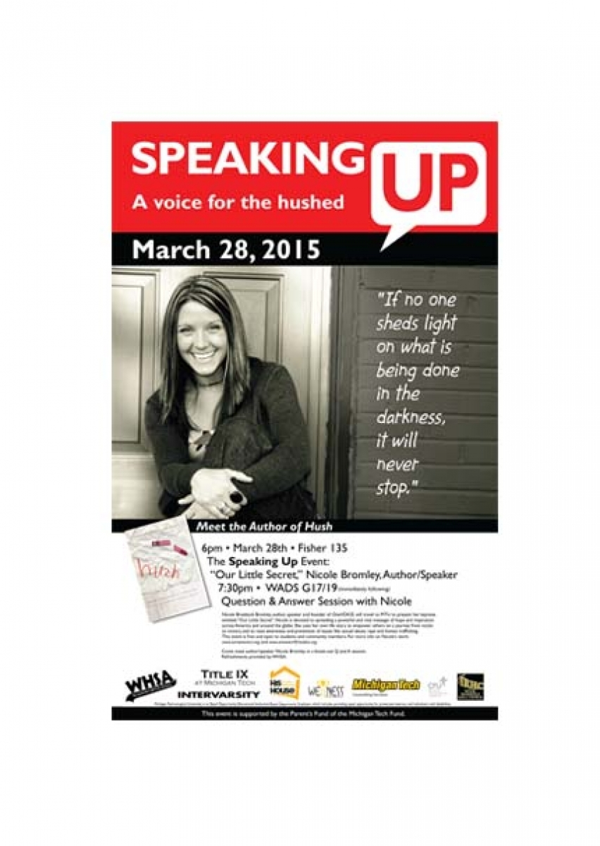 Speaking Up Poster